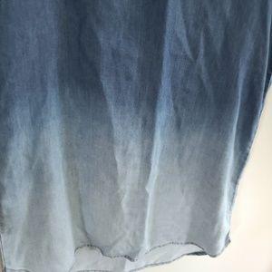 beachlunchlounge Dresses - Beachlunchlounge / Blue Ombre Tunic Dress